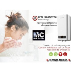 CALENTADOR DE AGUA A GAS NATURAL 11 L. EAS ELECTRIC EMG11