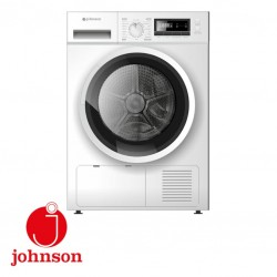 SECADORA JOHNSON 8KG CLASE A++ BOMBA DE CALOR DISPLAY